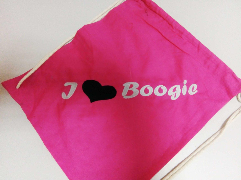 "Бродерия ""I love Boogie"""