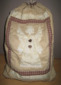 sac à jouet patchwork