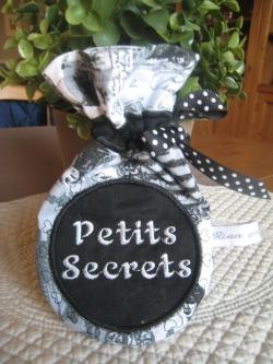 sachet petits secrets