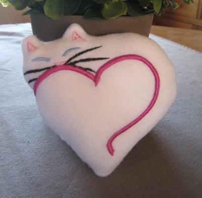 chat coeur