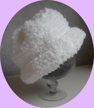bonnet enfant laine fourrure