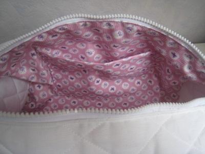 intérieur poche sac à tricot