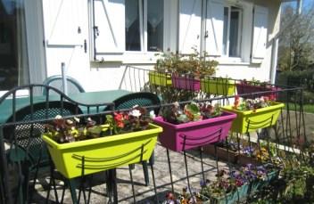 jardinières couleurs