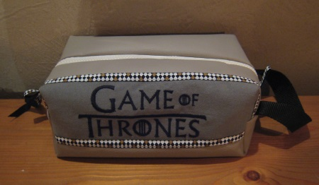 trousse de toilette homme games of thrones