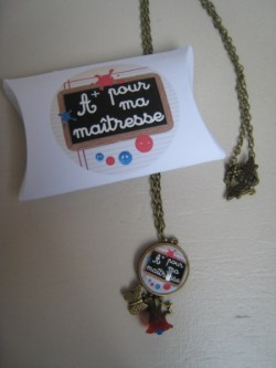 collier A+ pour ma maitresse - miss coopecoll