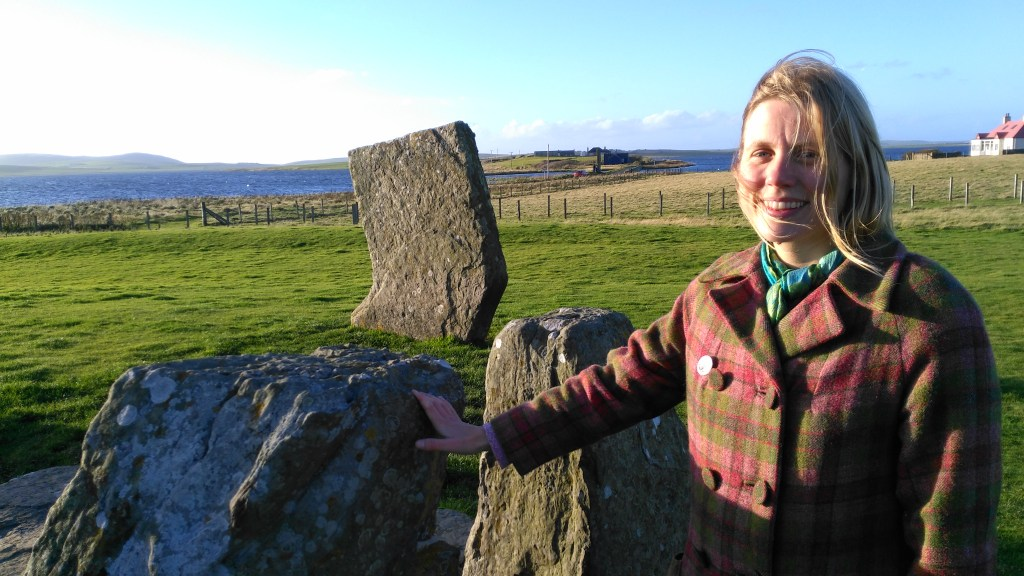 Dr Ragnhild Ljosland, qualified Orkney Green Badge tourist guide, member of the Scottish Tourist Guides Association.
