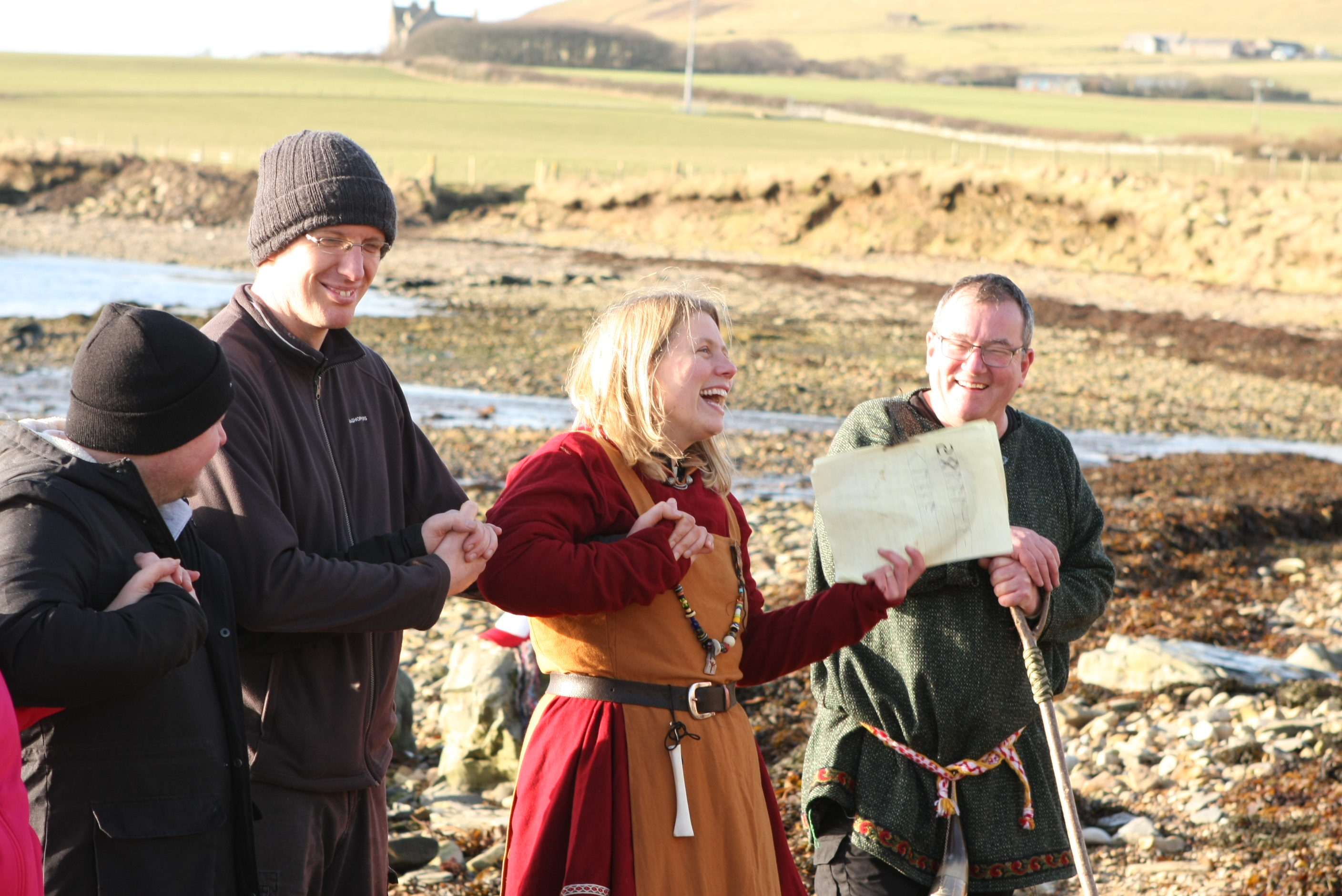 Orkney Viking Hiking: A time travel adventure for all the family