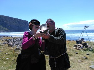 Fun Viking Voyage to Hoy. Orkney Viking hiking.