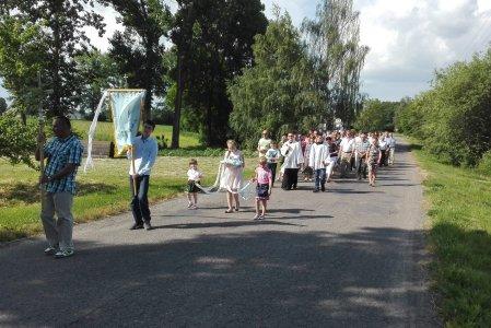 Poświęcenie pól w Brodzicy 2016