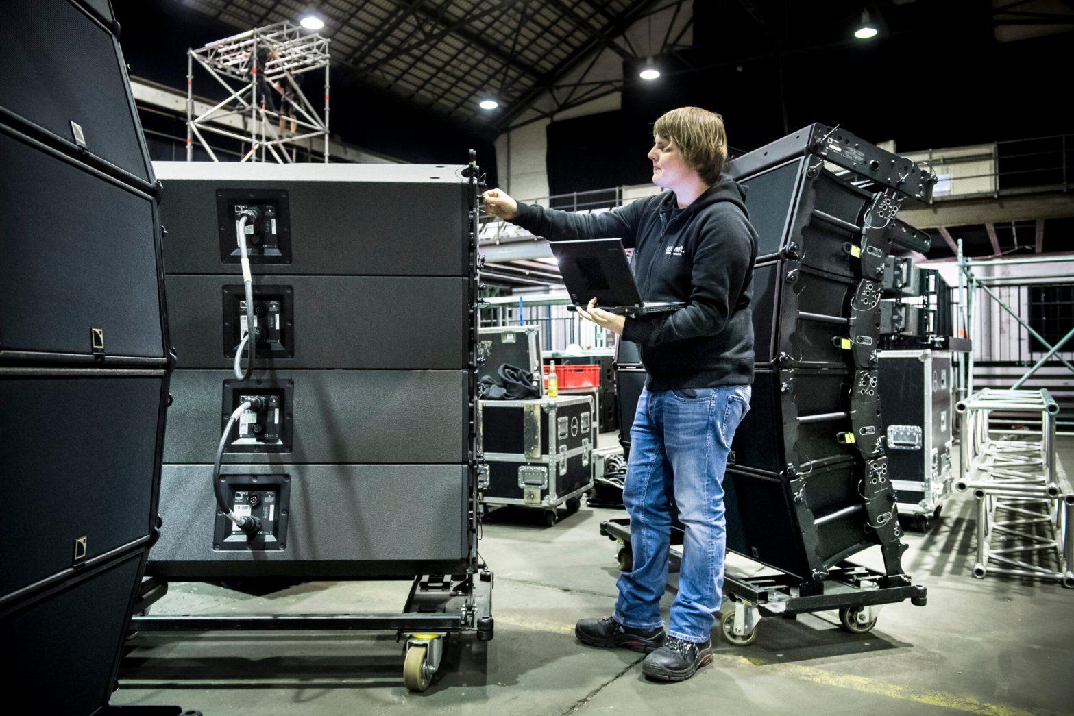 Ayke mit L-Acoustics K2