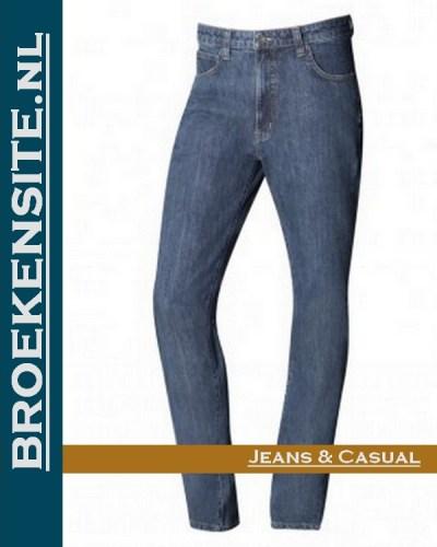 Paddock P80601 1888 00 - 4405 Paddocks L.S. 601 super dark slim fit jeans Broekensite