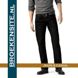 Levi 501 zwart jeans spijkerbroek Broekensite met logo