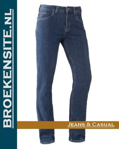 Brams Paris Danny medium blue BP 1.3345-X63 Broekensite jeans casual