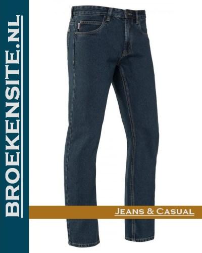 Brams Paris Gibson stone washed darkBP 1.331-A1 Broekensite jeans casual
