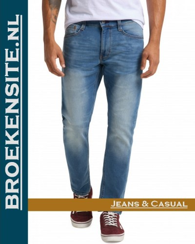 Mustang Oregon Tapered K authentic used 2 M 3112-5455 - 536 Broekensite jeans casual
