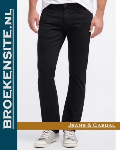 Mustang Oregon Tapered midnight black M 3116-5799 - 490 Broekensite jeans casual