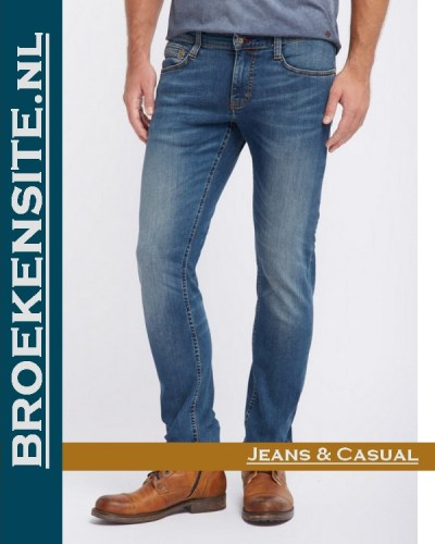 Mustang Oregon Tapered stone M 3116-5764 - 068 Broekensite jeans casual