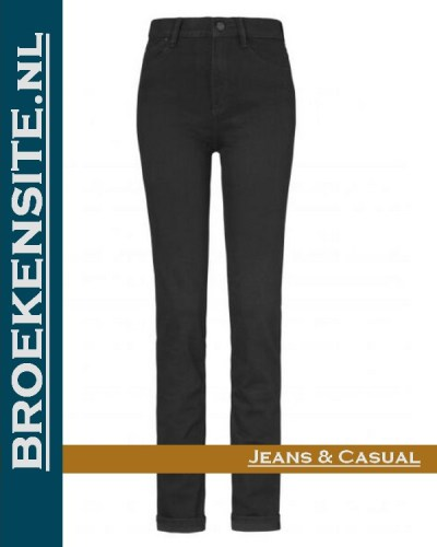 Paddocks Pat black P 602723503000 - 6001 Broekensite jeans casual
