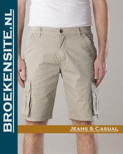 New Star Brisbane bermuda stretch sand NS - 0204-BRISBANE-2-307 Broekensite jeans casual