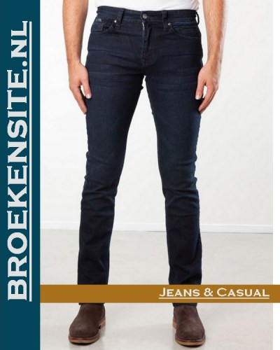 New Star slim fit stretch dark stone