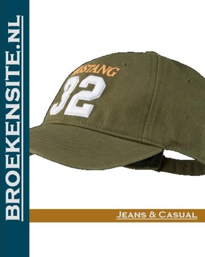 Cap groen 32 Caps Mustang petten pet baseballcap Broekensite