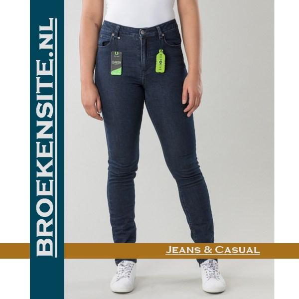 New Star Recycle Slim fit stretch denim dark wash NS-777-LADIES-RECYCLE-23-62 ECO BIO Broekensite jeans casual