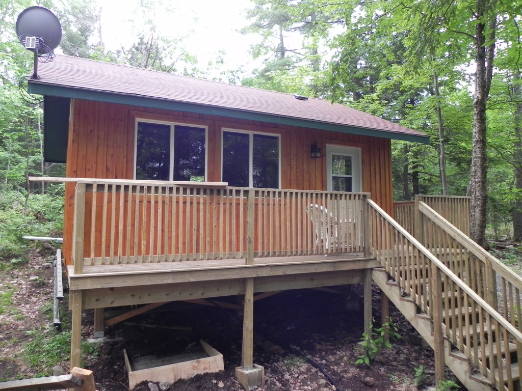 Old Sids Road Bunkie Front View