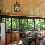McDougall Cottage Screened Porch Interior