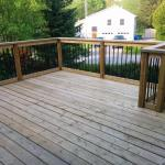 After Construction Decking