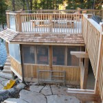 Parry Sound Deck Permit Dwg Screened Porch with Deck Above