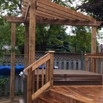 Keswick Deck - After Construction View of Pergola