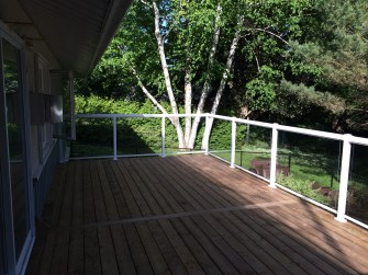 Sutton Deck - After Construction Looking Left