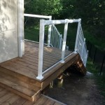 Sutton Deck - After Construction Step onto Existing Deck