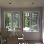 Lively Sunroom Addition Drywall Up