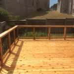 Richmond Hill Deck - After Construction View From Deck