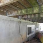 Elm Ave Deck - Before Construction Under Deck