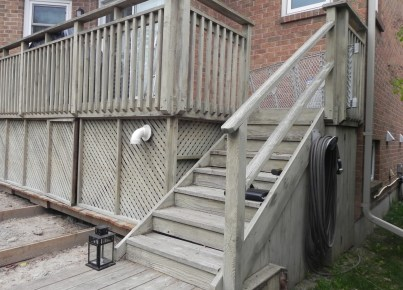 Keswick Deck 3 - Before Construction Stairs