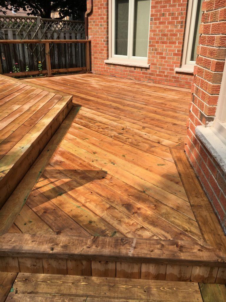 Aurora Deck - After Construction Entry