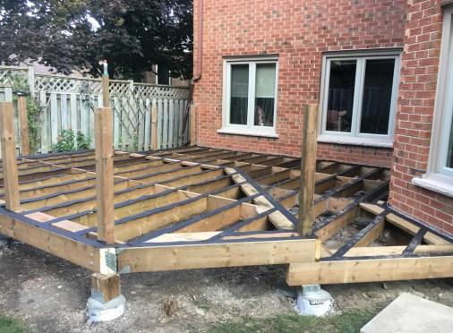 Aurora Deck - During Construction Front View