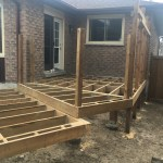Bradford Deck - After Construction Front Right View