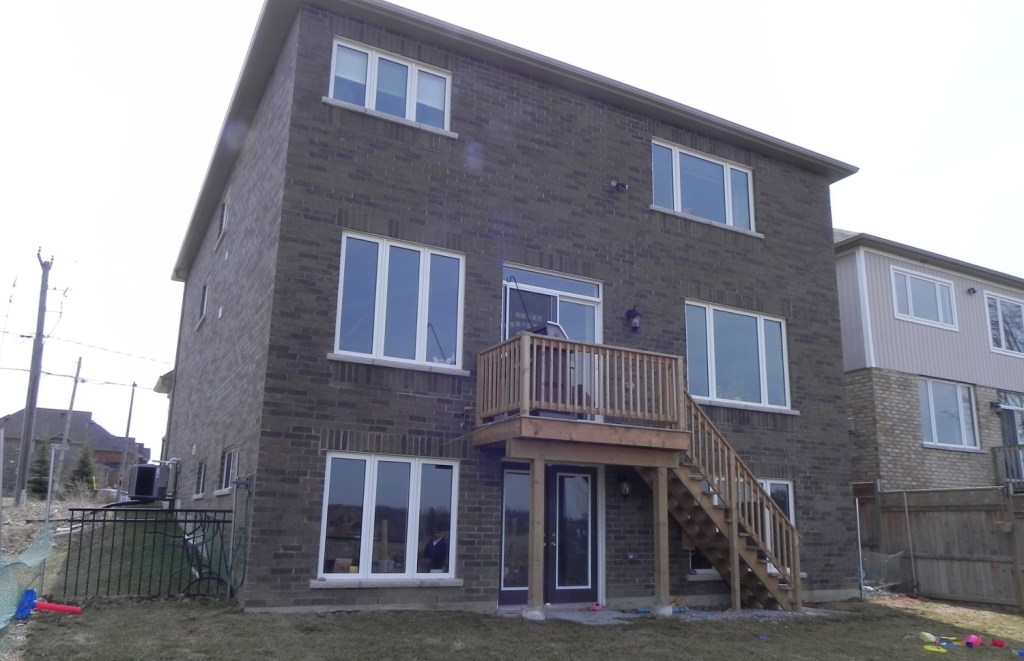Keswick Deck 4 - Before Construction Front Left Side View