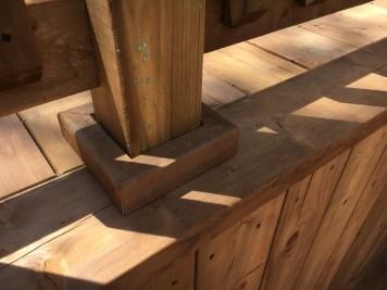 Bradford Deck 2 - After Construction Post Base Detail