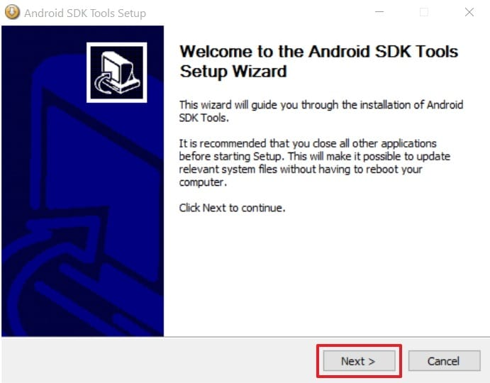 Android-SDK-Tools-Installation