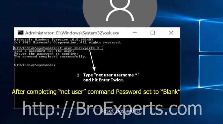 Recover-windows-10-password
