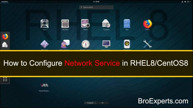 Configure-Network-Service-in-RHEL8