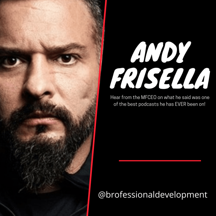 Andy Frisella of 75Hard and the RealAF Podcast!