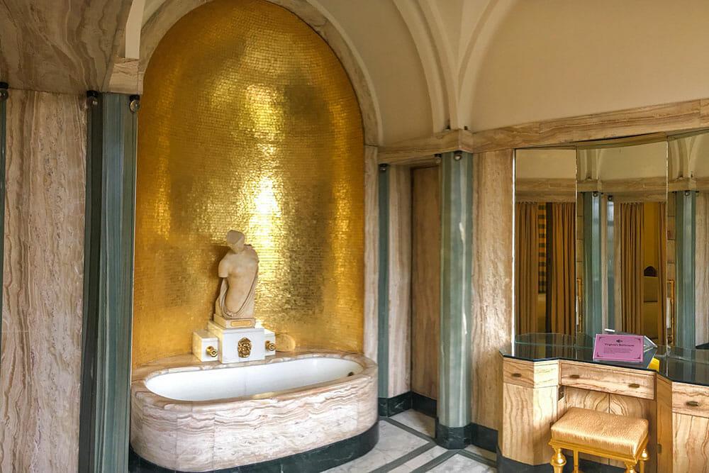 Eltham Palace Bathroom London UK