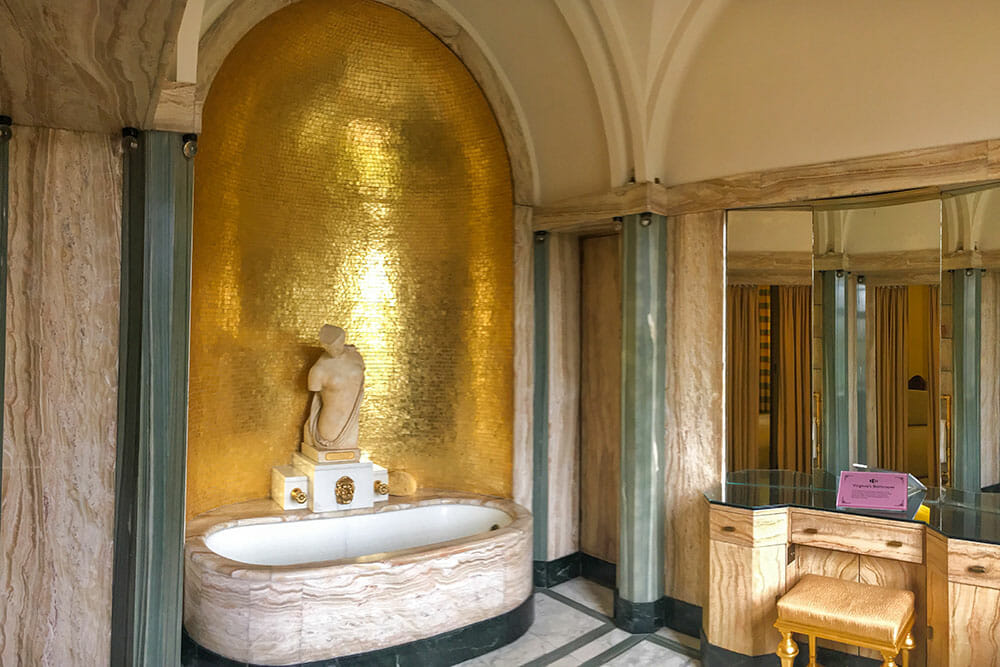 Eltham Palace Bathroom London UK