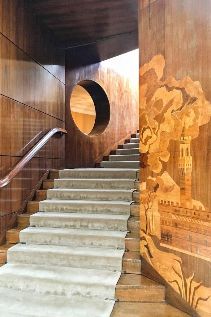 Eltham Palace Entrance Hall London UK