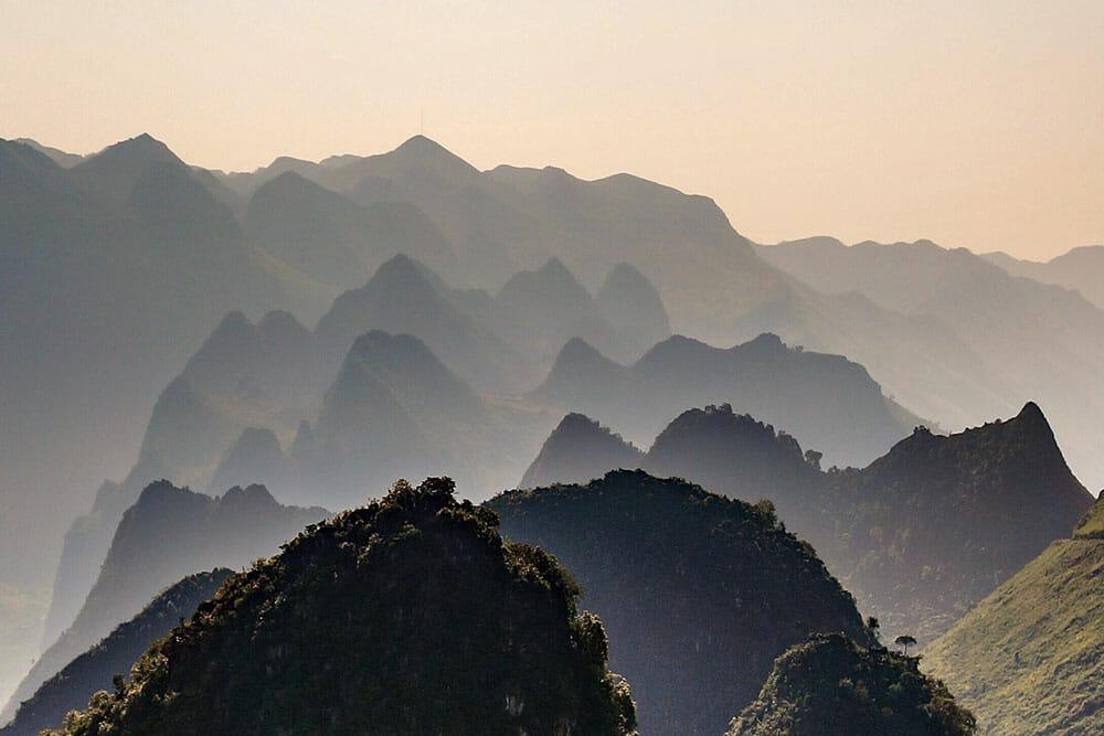 Ma Pi Leng Pass Ha Giang Vietnam